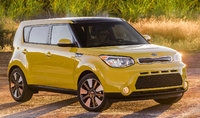 2015 Kia Soul, Front-quarter view, exterior, manufacturer, gallery_worthy