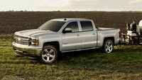 2015 Chevrolet Silverado 1500, Front-quarter view. Copyright General Motors, exterior, manufacturer