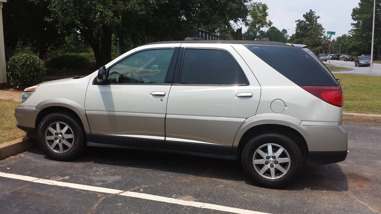 picture of 2004 buick rendezvous cxl exterior. Cars Review. Best American Auto & Cars Review