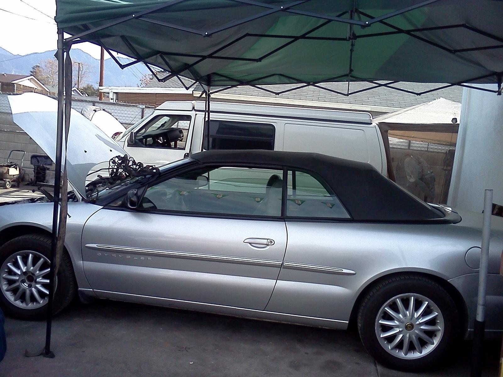 2008 chrysler sebring convertible top malfunction
