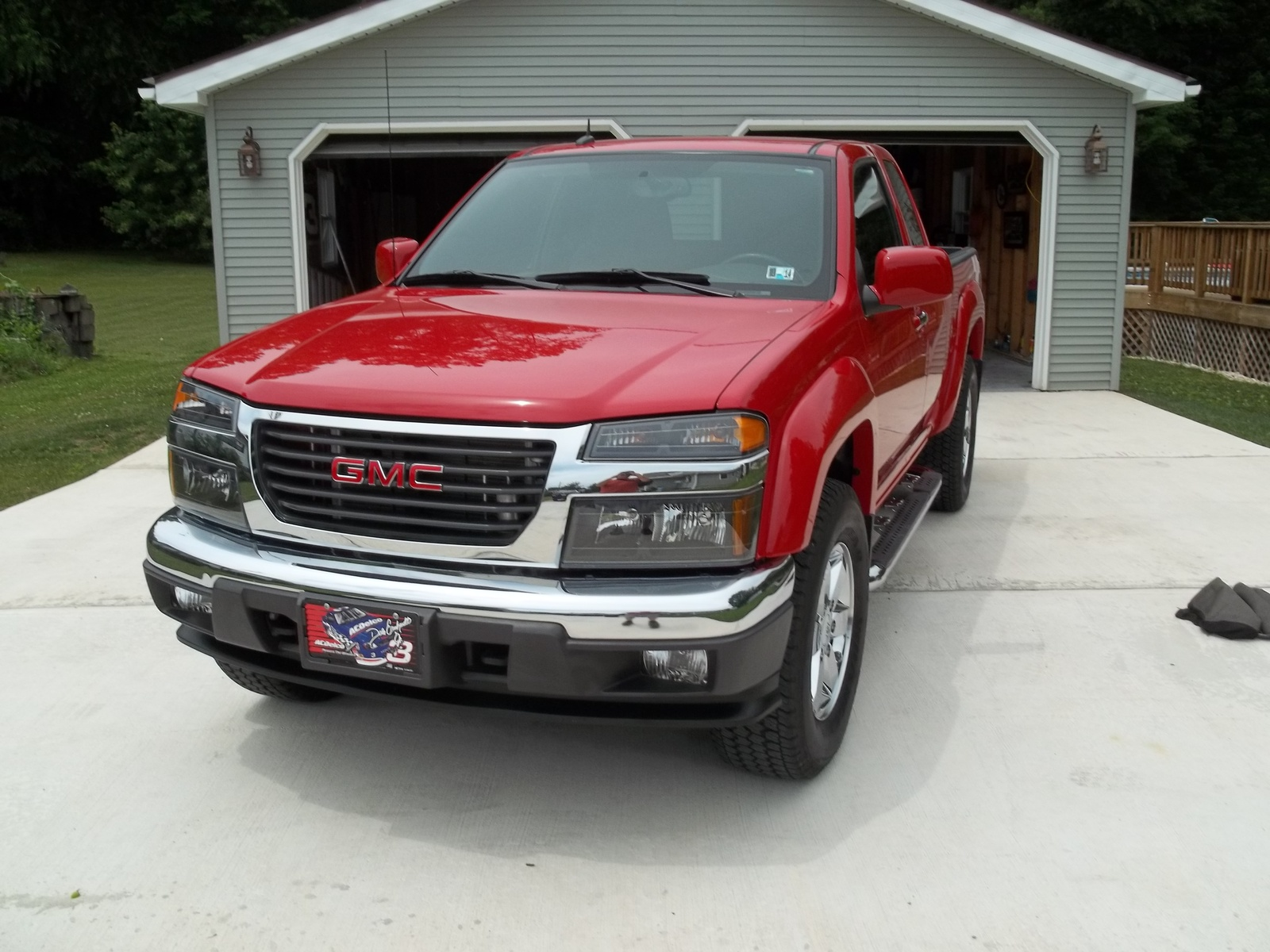 picture of 2012 gmc canyon sle1 ext cab 4wd exterior. Black Bedroom Furniture Sets. Home Design Ideas