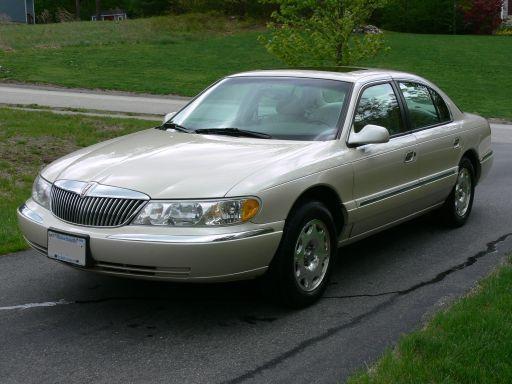 2000 Lincoln Continental 4 Dr STD Sedan picture