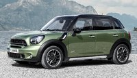 2015 MINI Countryman, Front-quarter view, exterior, manufacturer
