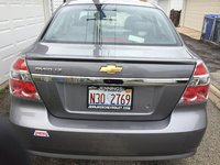 2011 Chevrolet Aveo LT, back exterior, exterior