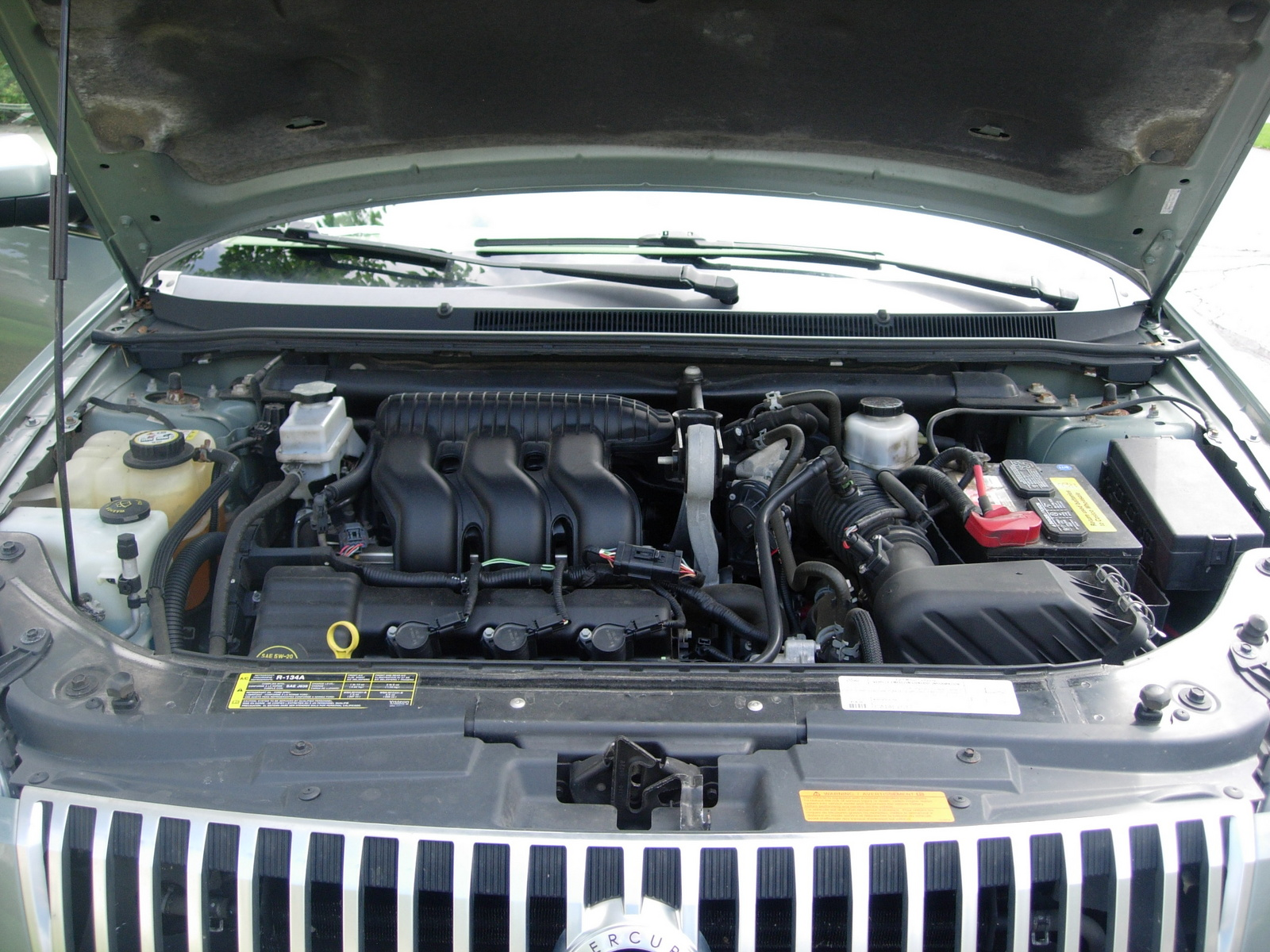 Picture of 2007 Mercury Montego Premier, engine