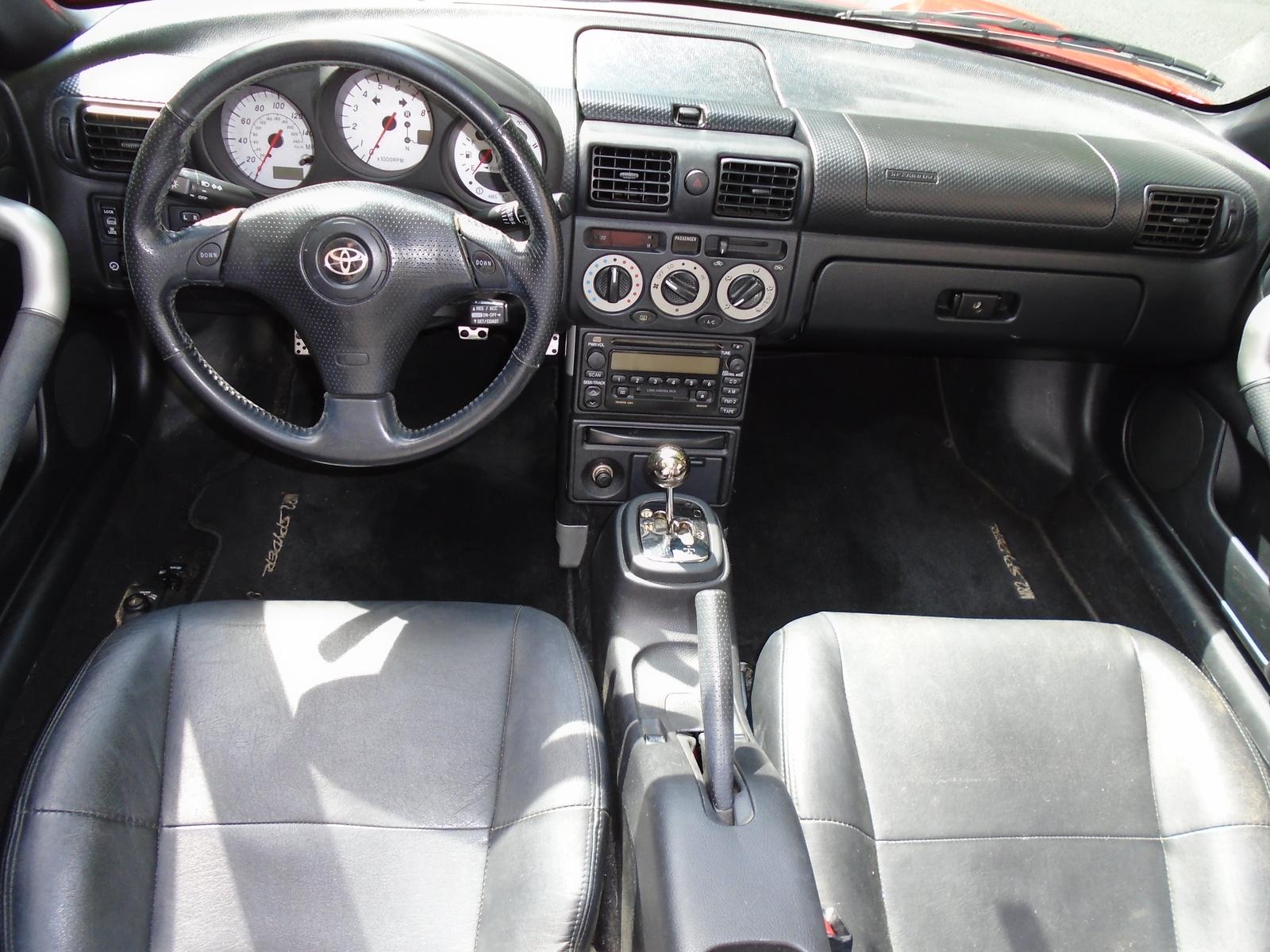 2002 Toyota Mr2 Spyder Interior Pictures Cargurus
