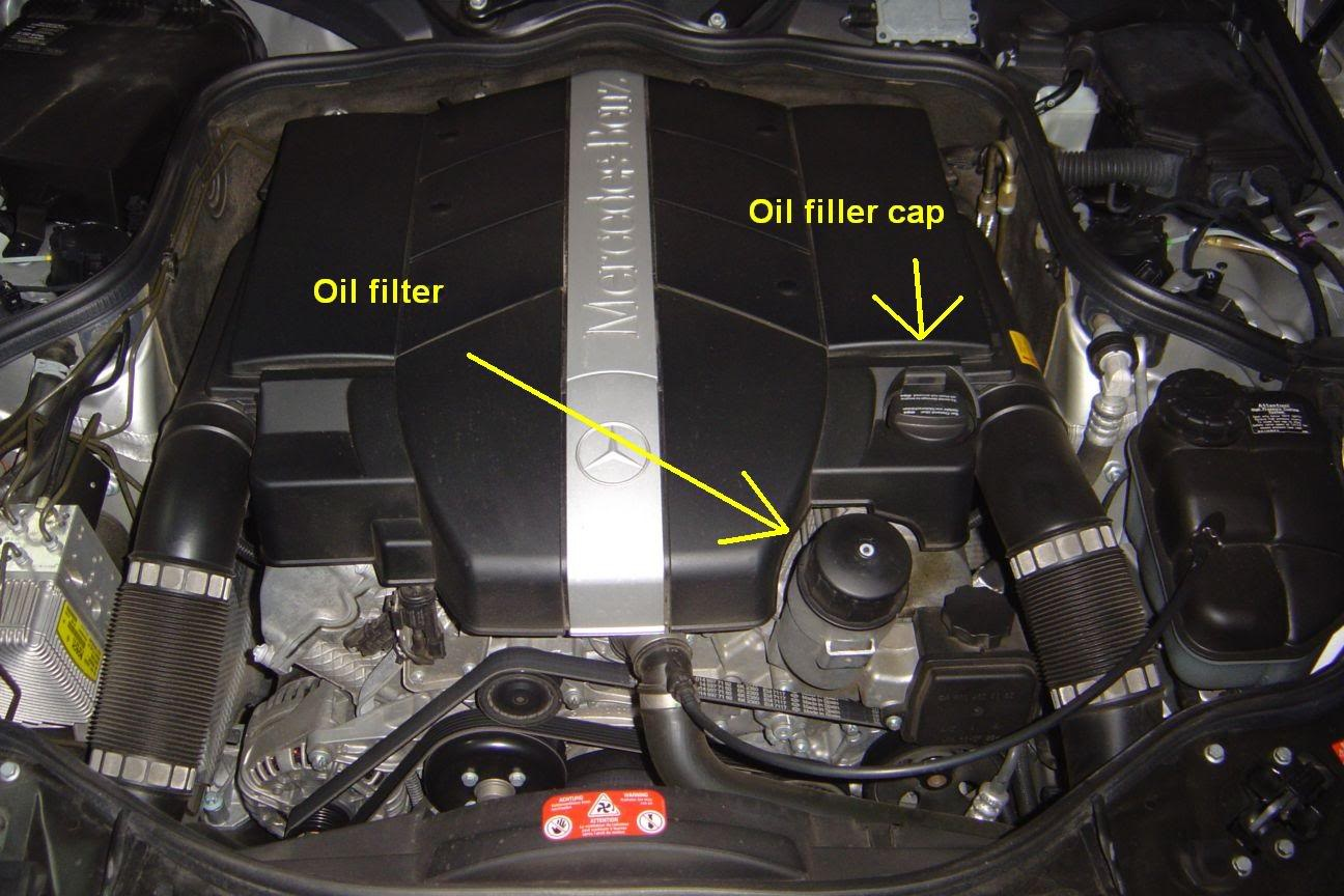 Mercedes Benz Clk Class Questions Where Is The Oil