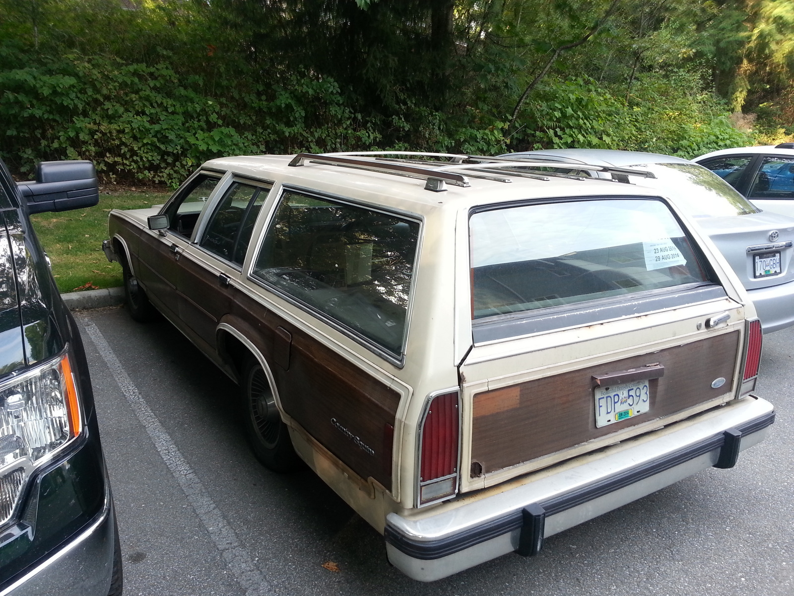 1985 ford country squire overview cargurus