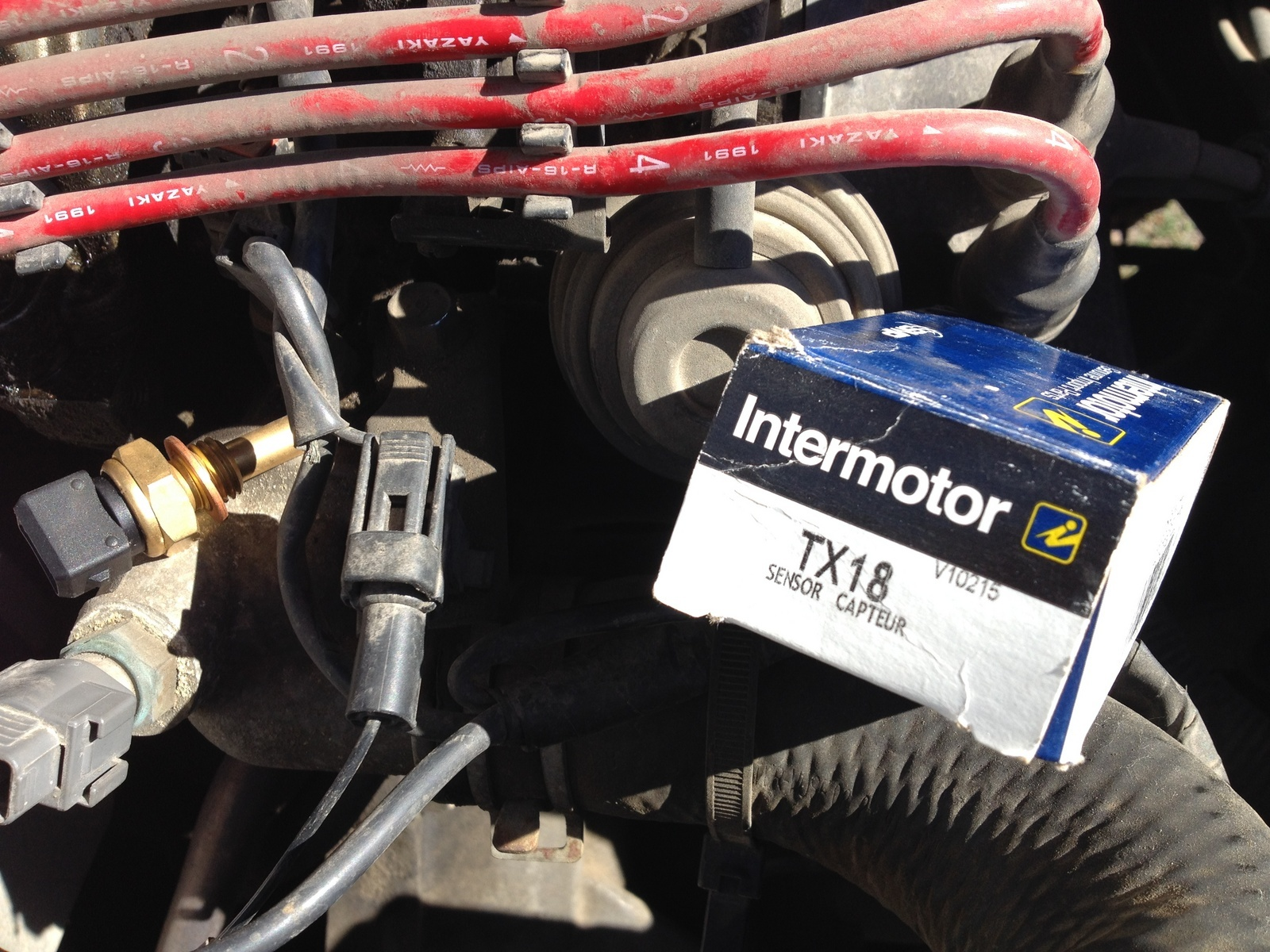 Mazda Mx 6 Questions Where Is The Temperature Sensor Located In Ford Probe Fuel Filter Location 1 People Found This Helpful