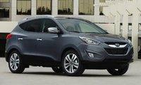 2015 Hyundai Tucson, Front-quarter view, exterior, manufacturer