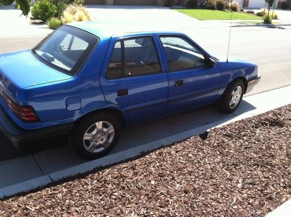 Picture of 1992 Plymouth Sundance 4 Dr America Hatchback