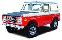 1969 Ford Bronco, Stock Photo of uncut Late '60s early '70s Bronco, exterior