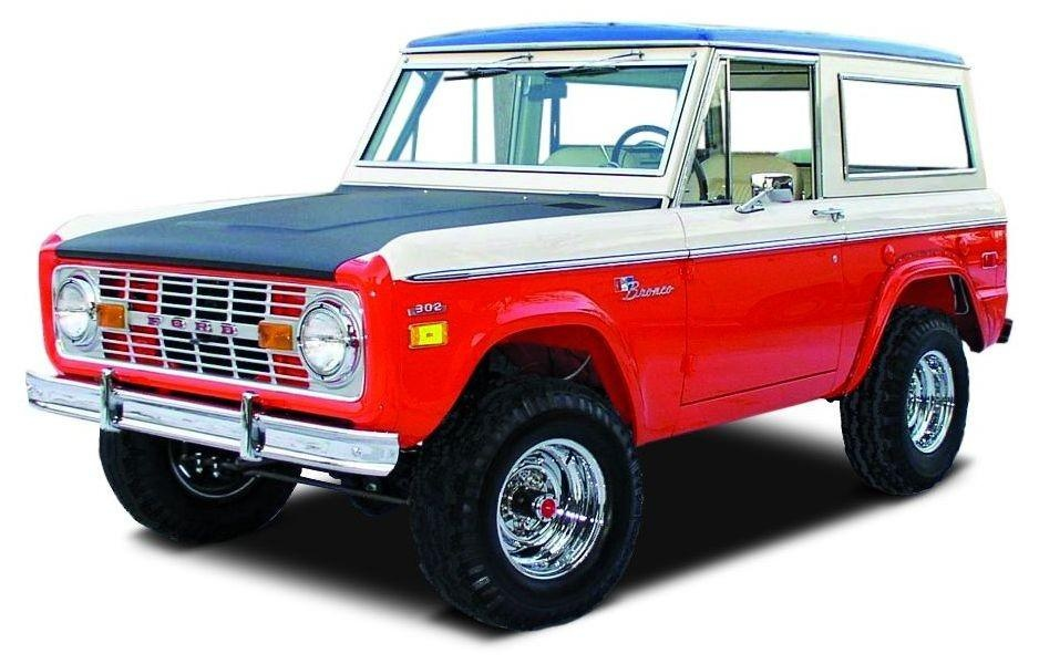 Stock Photo of uncut Late '60s early '70s Bronco