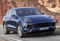 2015 Porsche Cayenne, Front-quarter view, exterior, manufacturer