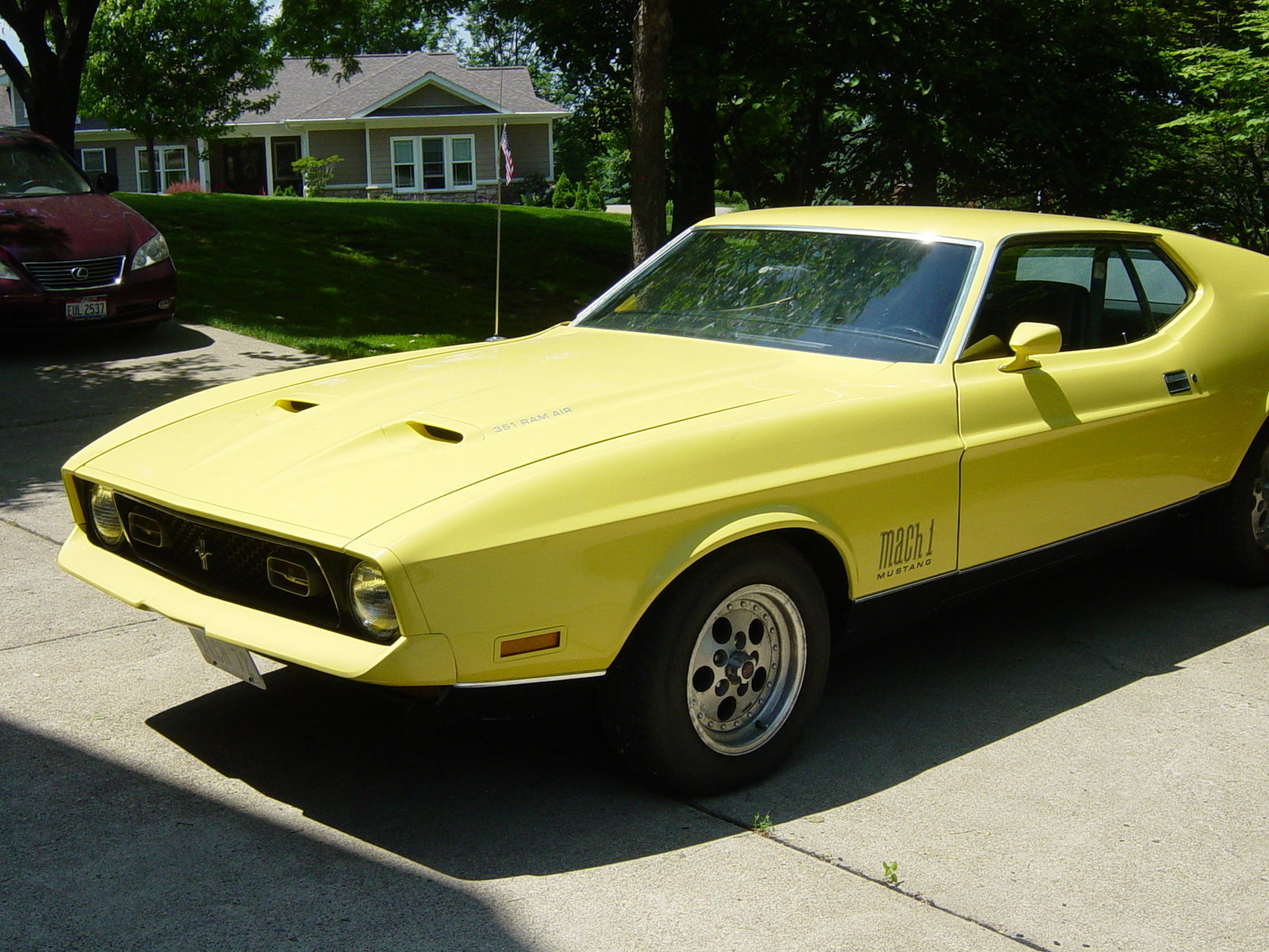 1972 ford mustang mach - photo #41