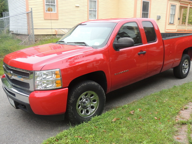 Picture of 2010 Chevrolet Silverado 1500 LS Extended Cab 4WD, exterior, gallery_worthy