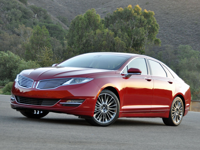 2014 Lincoln MKZ Base AWD, 2014 Lincoln MKZ Reserve Package Summer Tire Handling Package Ruby Red Paint, exterior