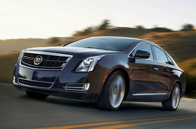 2015 Cadillac XTS, Front-quarter view. Copyright General Motors, exterior, manufacturer