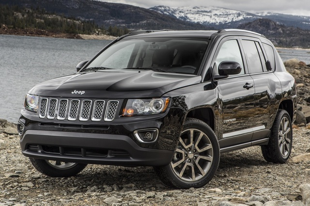 2015 Jeep Compass, Front-quarter view, exterior, manufacturer