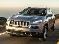 2015 Jeep Cherokee, Front-quarter view, exterior, manufacturer