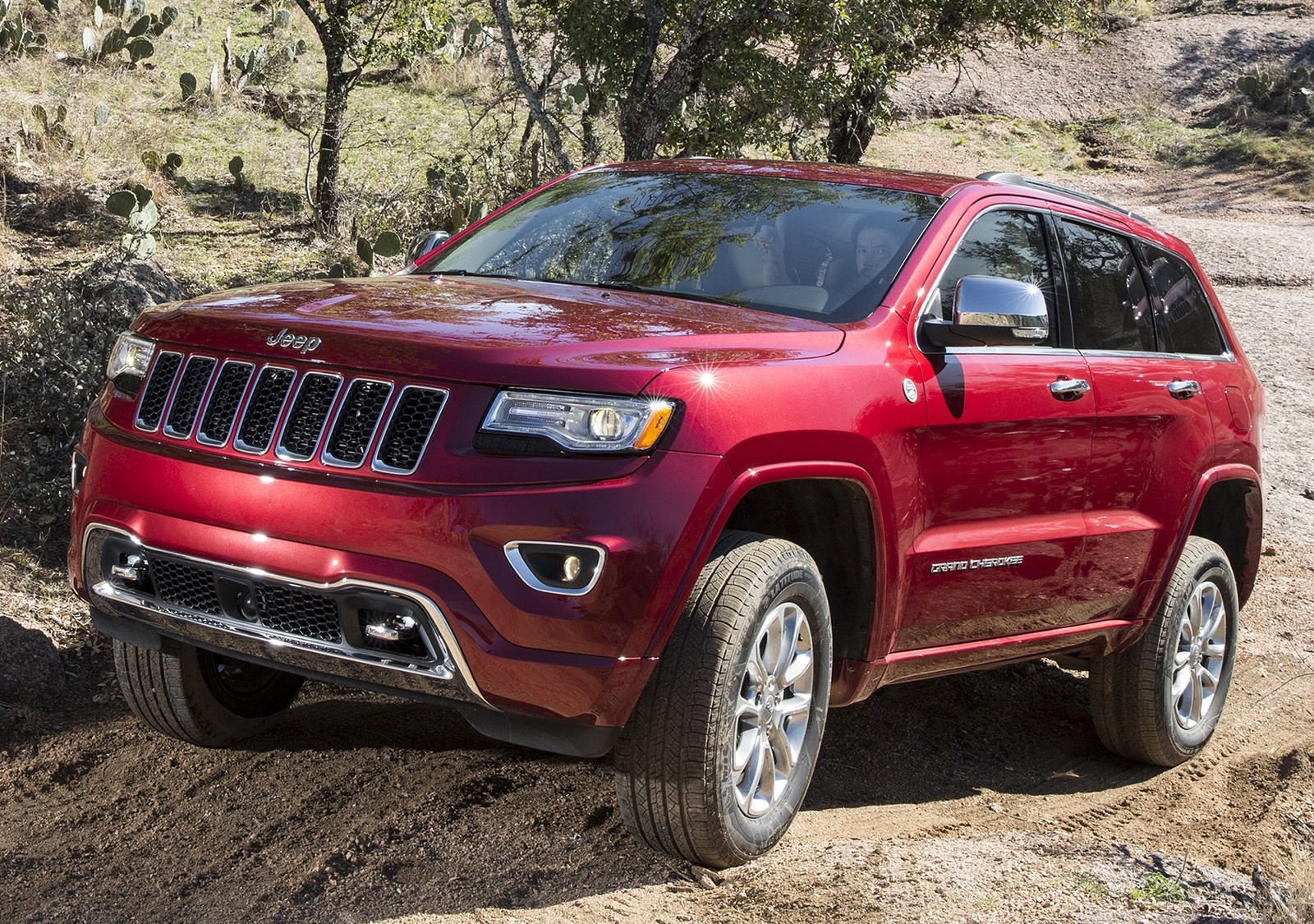 The 2015 Jeep Grand Cherokee is the brand's halo car, offering a long