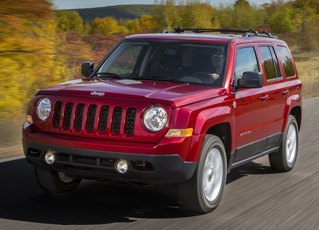 2015 Jeep Patriot, Front-quarter view, exterior, manufacturer