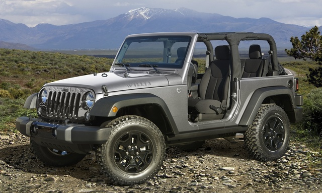 2015 Jeep Wrangler, Front-quarter view, exterior, manufacturer, gallery_worthy