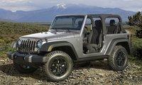 2015 Jeep Wrangler, Front-quarter view, exterior, manufacturer