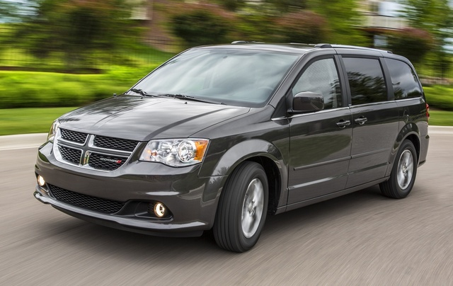 2015 Dodge Grand Caravan, Front-quarter view, exterior, manufacturer
