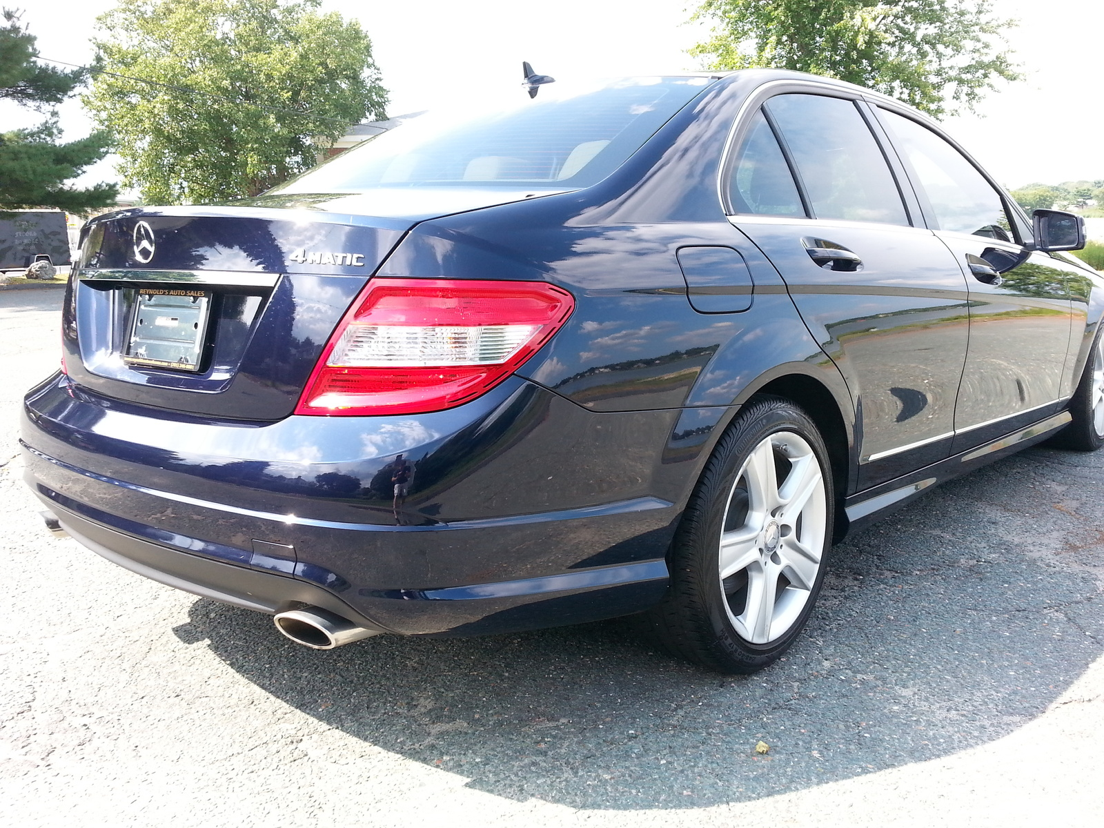 Picture of 2011 mercedes benz c class c300 sport 4matic for Mercedes benz 2011 c300