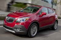 2015 Buick Encore, Front-quarter view. Copyright General Motors, exterior, manufacturer