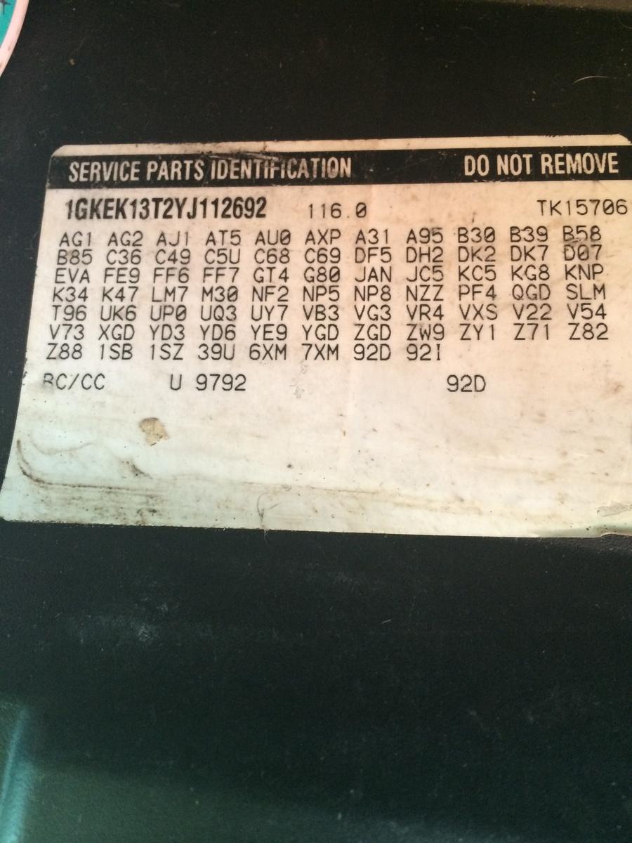 Chevrolet Suburban Questions - how to determine axle ratio