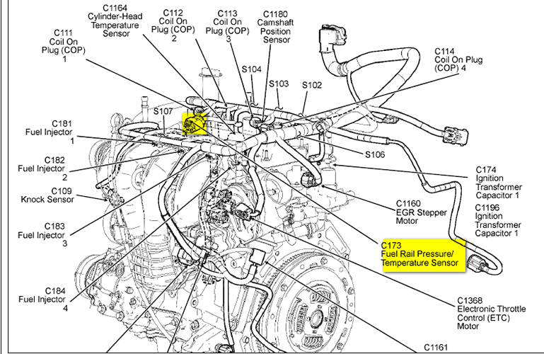 ford escape questions fans running all the time cargurus rh cargurus com 2005 ford escape engine diagram 2010 ford escape engine diagram