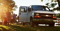 2015 Chevrolet Express, Front view. Copyright General Motors, exterior, manufacturer