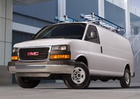 2015 GMC Savana Cargo, Front-quarter view. Copyright General Motors, exterior, manufacturer