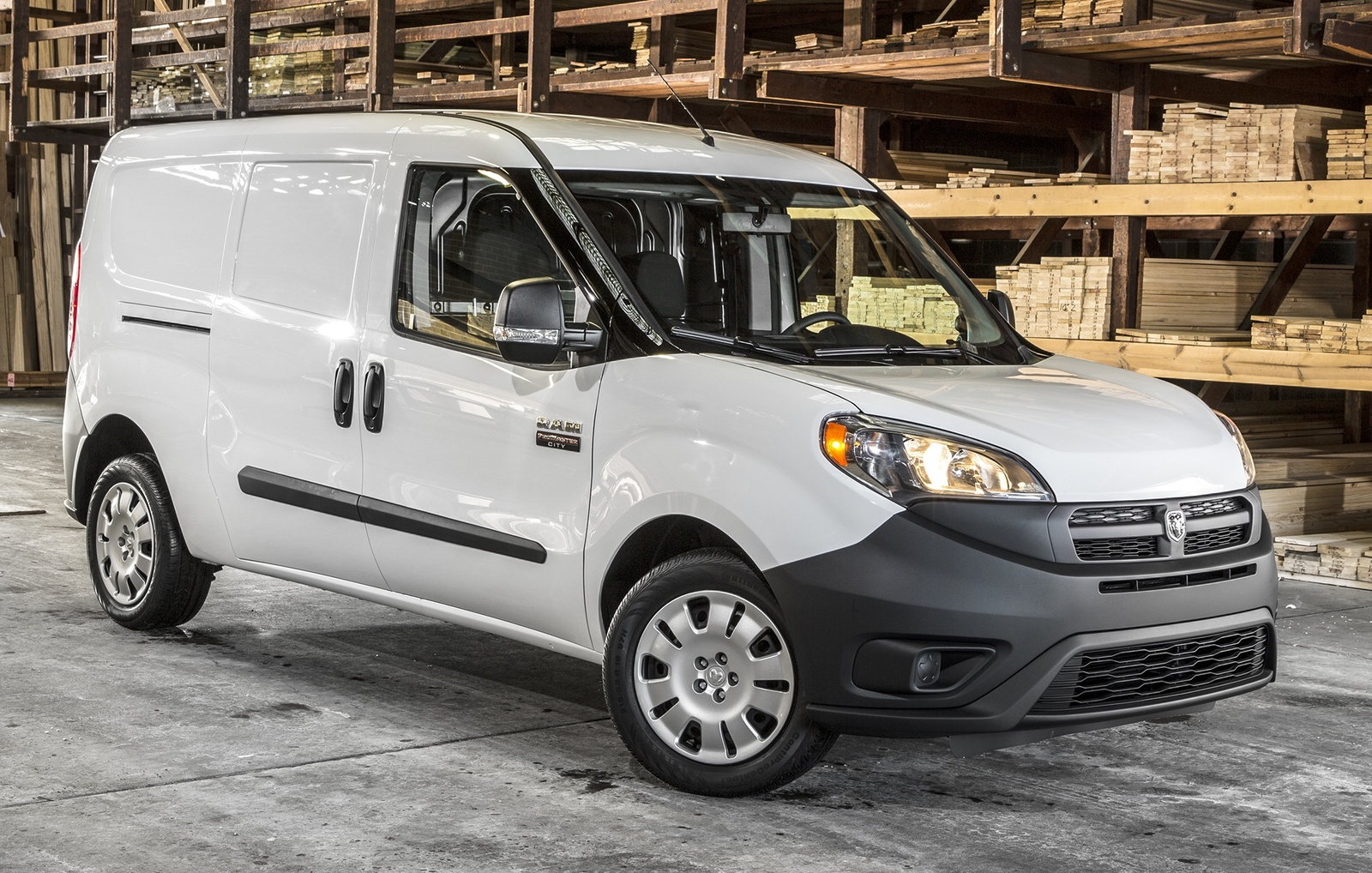 ram promaster city facing competition across the showroom build race party