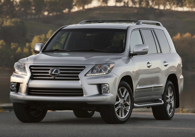 2015 Lexus LX 570, Front-quarter view, exterior, manufacturer, gallery_worthy