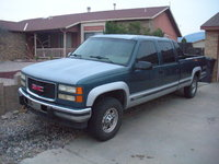 1994 GMC Sierra 3500 4 Dr K3500 SLE 4WD Crew Cab LB, Front Driver Side, exterior