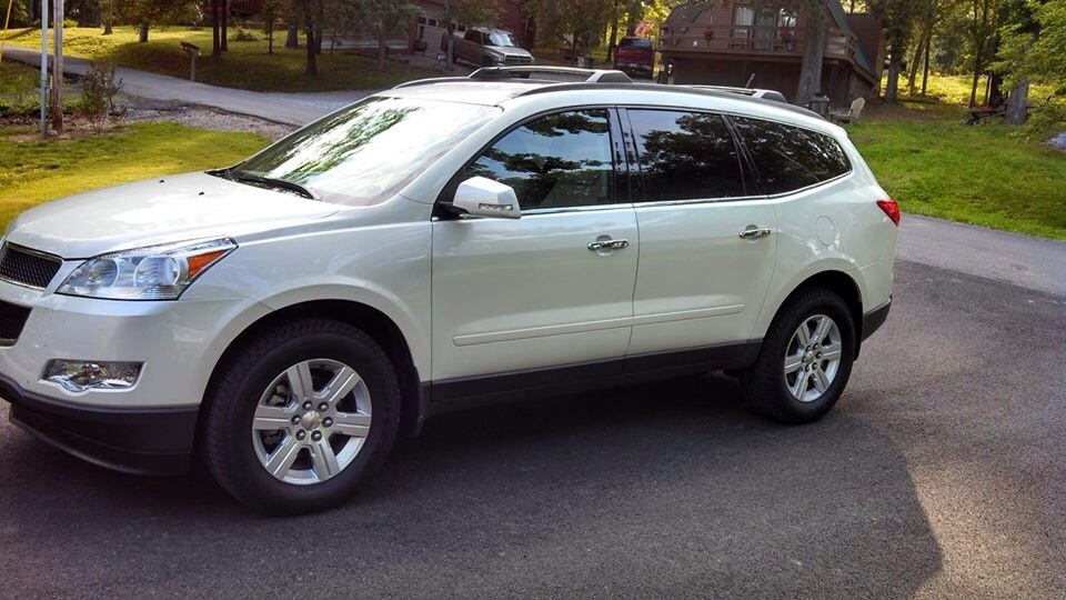picture of 2012 chevrolet traverse 2lt exterior. Cars Review. Best American Auto & Cars Review
