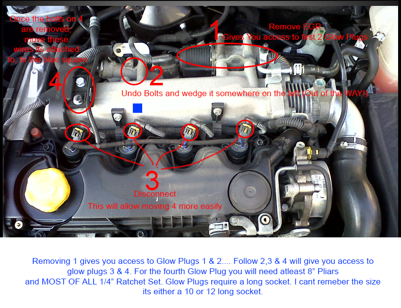 Vauxhall Glow Plug Relay Wiring Diagram : Opel corsa questions smoking when cold cargurus