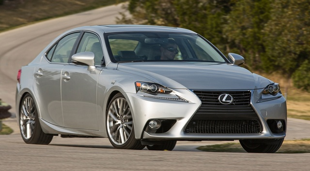 2015 Lexus IS 250, Front-quarter view, exterior, manufacturer, gallery_worthy