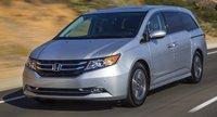 2015 Honda Odyssey, Front-quarter view, exterior, manufacturer