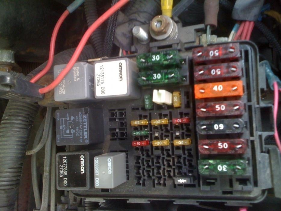 Pic X on 1989 Gmc Sierra Fuse Box Diagram