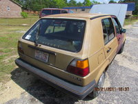 1986 Volkswagen Golf 4 Dr Hatchback, my 86 golf before it was repainted, exterior