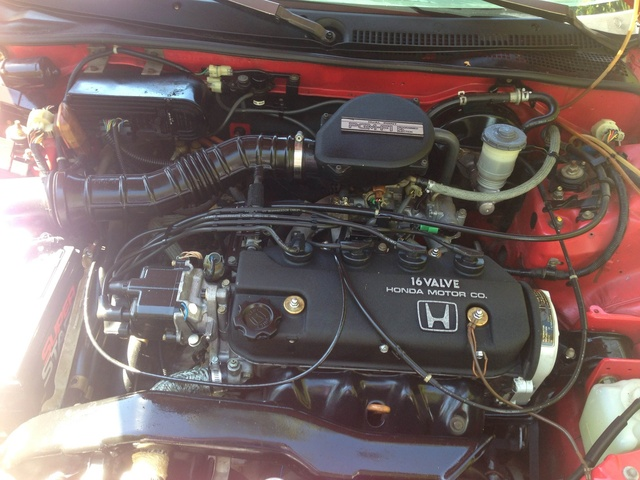 Picture of 1989 Honda Civic CRX 2 Dr HF Hatchback, engine