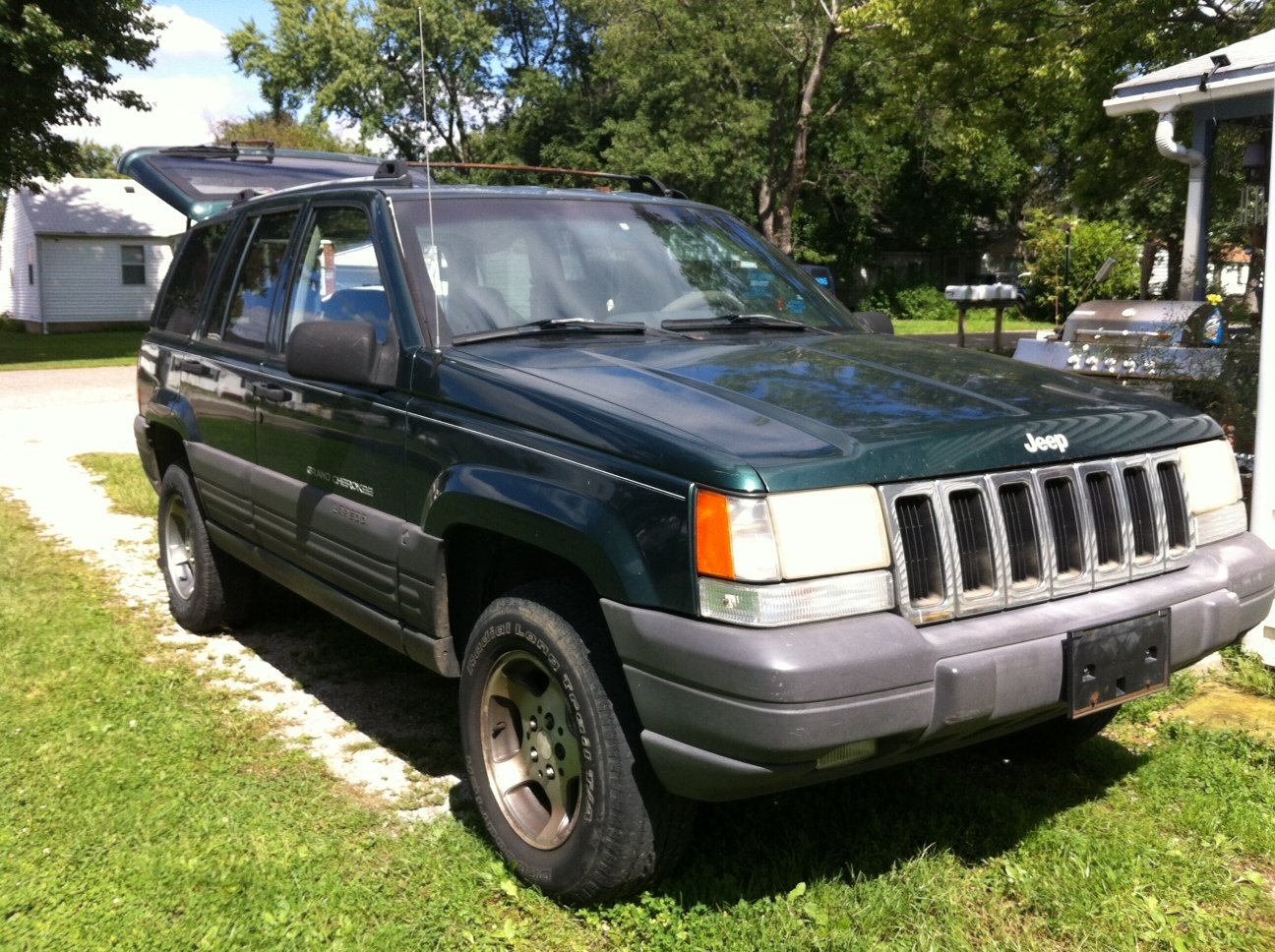 1996 jeep grand cherokee overview cargurus. Black Bedroom Furniture Sets. Home Design Ideas