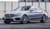 2015 Mercedes-Benz C-Class, Front-quarter view, exterior, manufacturer