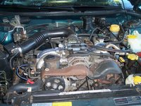 Picture of 1996 Subaru Legacy 4 Dr LS AWD Sedan, engine