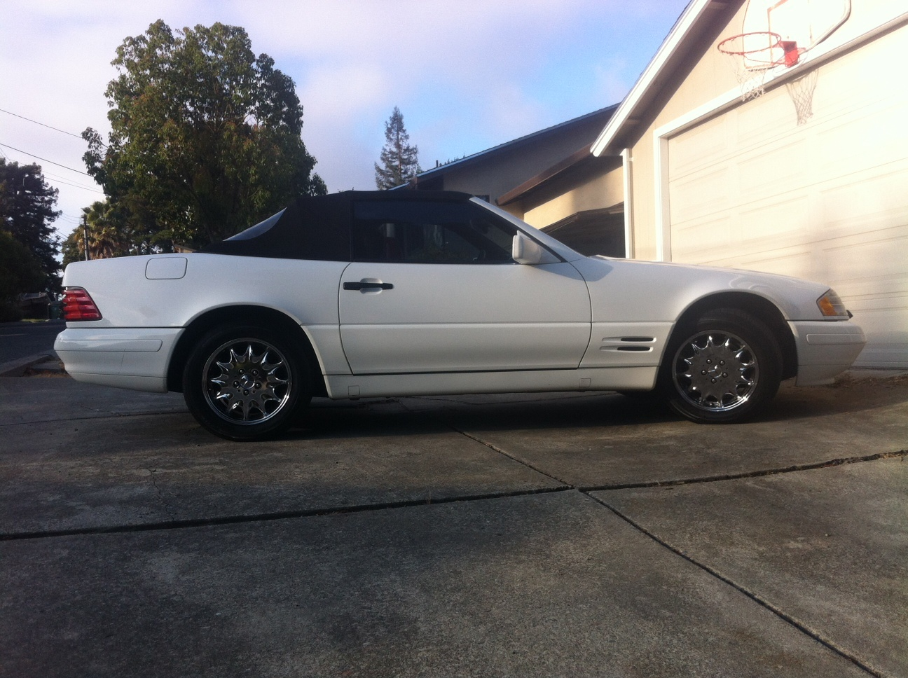 Picture of 1996 Mercedes-Benz SL-Class 2 Dr SL320 Convertible