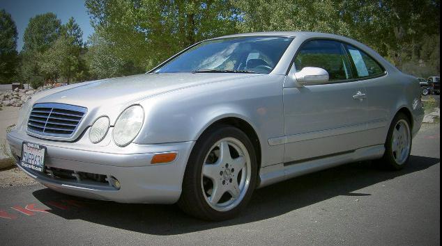 2000 mercedes benz clk class 2 dr clk430 coupe for sale for Mercedes benz clk430 convertible for sale